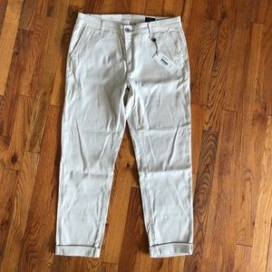 AG sand color trouser pant